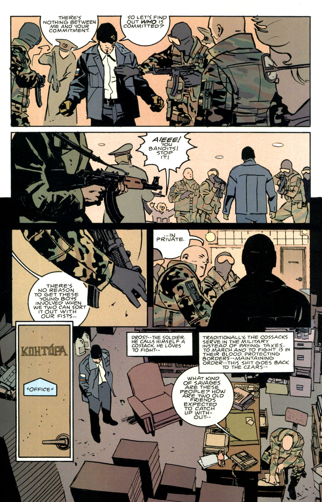 Read online The Winter Men comic -  Issue #1 - 10
