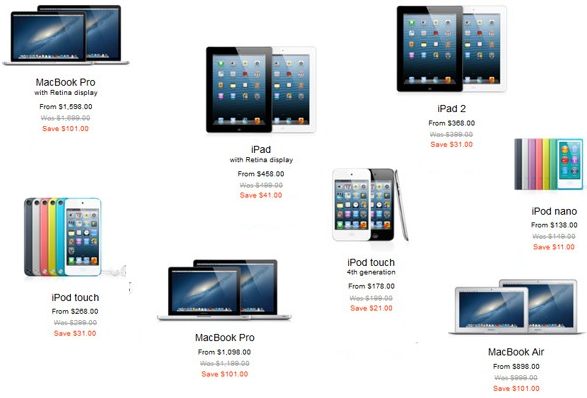 Black Friday Apple Deals 2014: iPad Air, Mini, iPod Touch, MacBook Pro