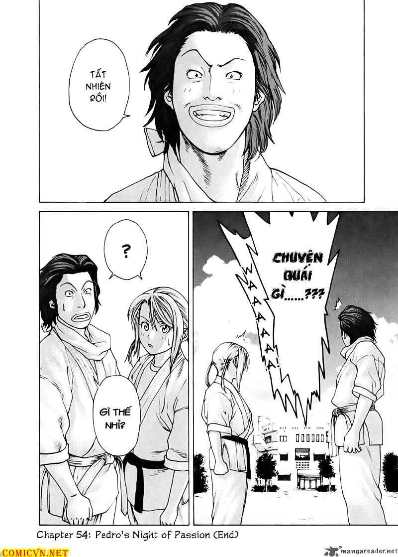 Karate Shoukoushi Kohinata Minoru chap 54 Trang 21