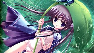 Girl on Anime Wallpaper