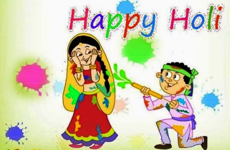 Holi Jija Saali SMS Images