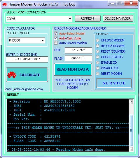 alcatel unlocking software free download