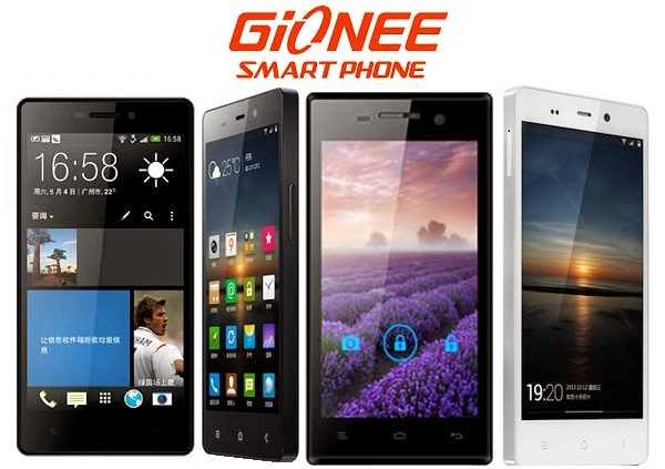 Gionee mobile phones price in India