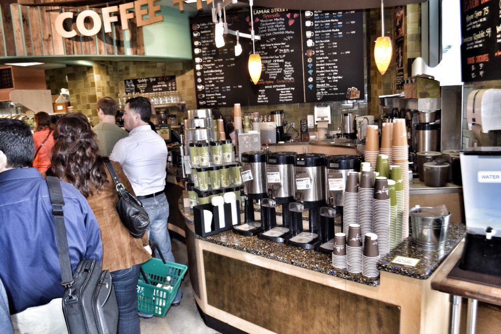 The Architectural Surface Expert: Whole Foods - Coffee & Tea Bar ...
