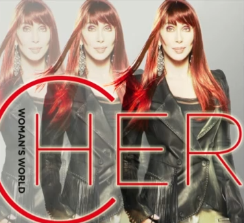 Cher 'Woman's World' cover art