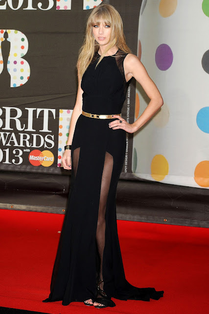 Taylor Swift Brit Awards 2013 outfit