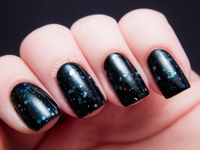 Chalkboard Nails: Happy Revolution Aluminum Monster