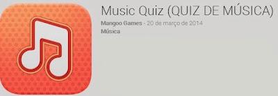 Jogo Music Quiz (Quiz de Música) Respostas Answers