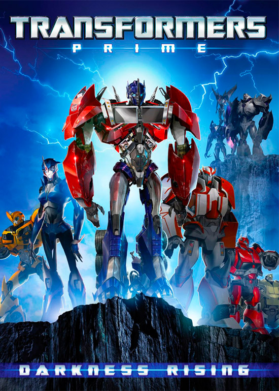 Assistir Transformers Prime –1ª Temporada – Vol.01 Dublado 2013