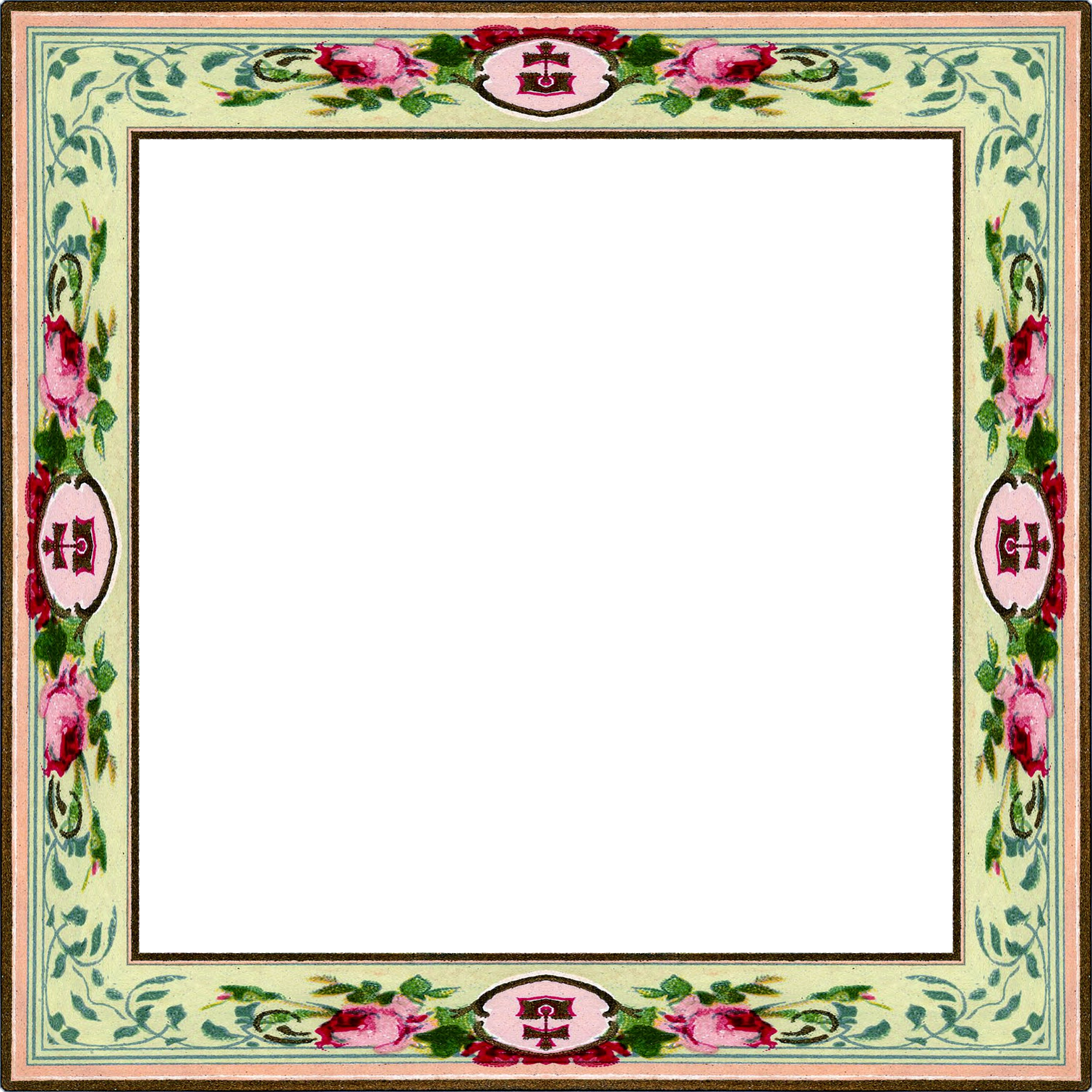 ... Frames sets for $1.00 at my stores and a beautiful CU Vintage Frame