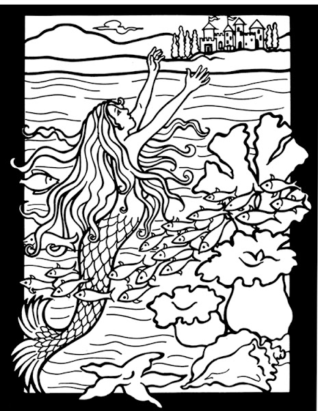 Christian Stained Glass Coloring Pages