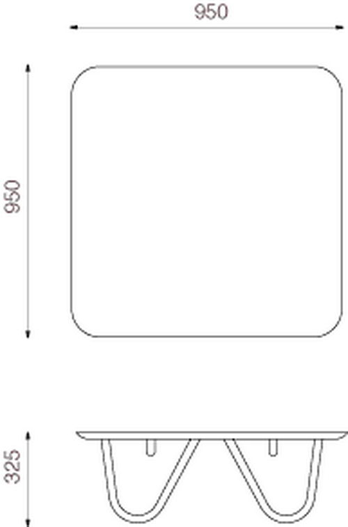 Willo Coffee Table Design Size