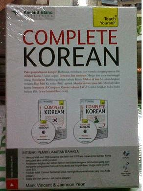 Buku Complete Korean Teach Yourself