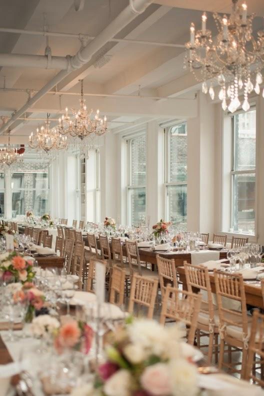 boda en un loft de Manhattan