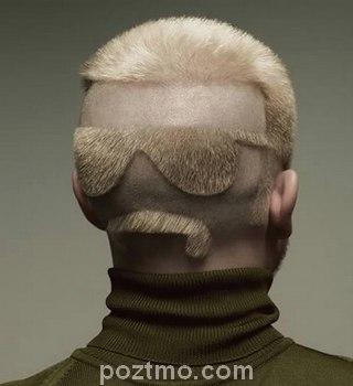 gaya rambut pria eksentrik