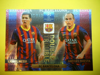 Messi Iniesta Double Trouble