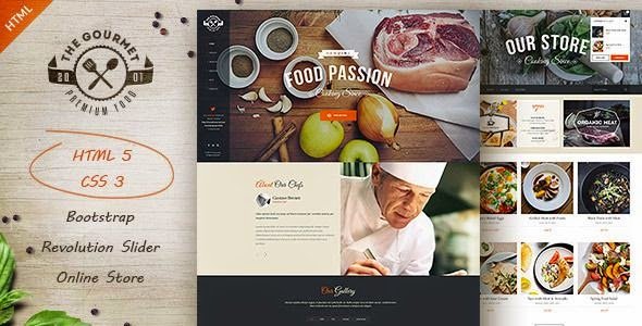 Multipurpose Restaurant HTML5 Template