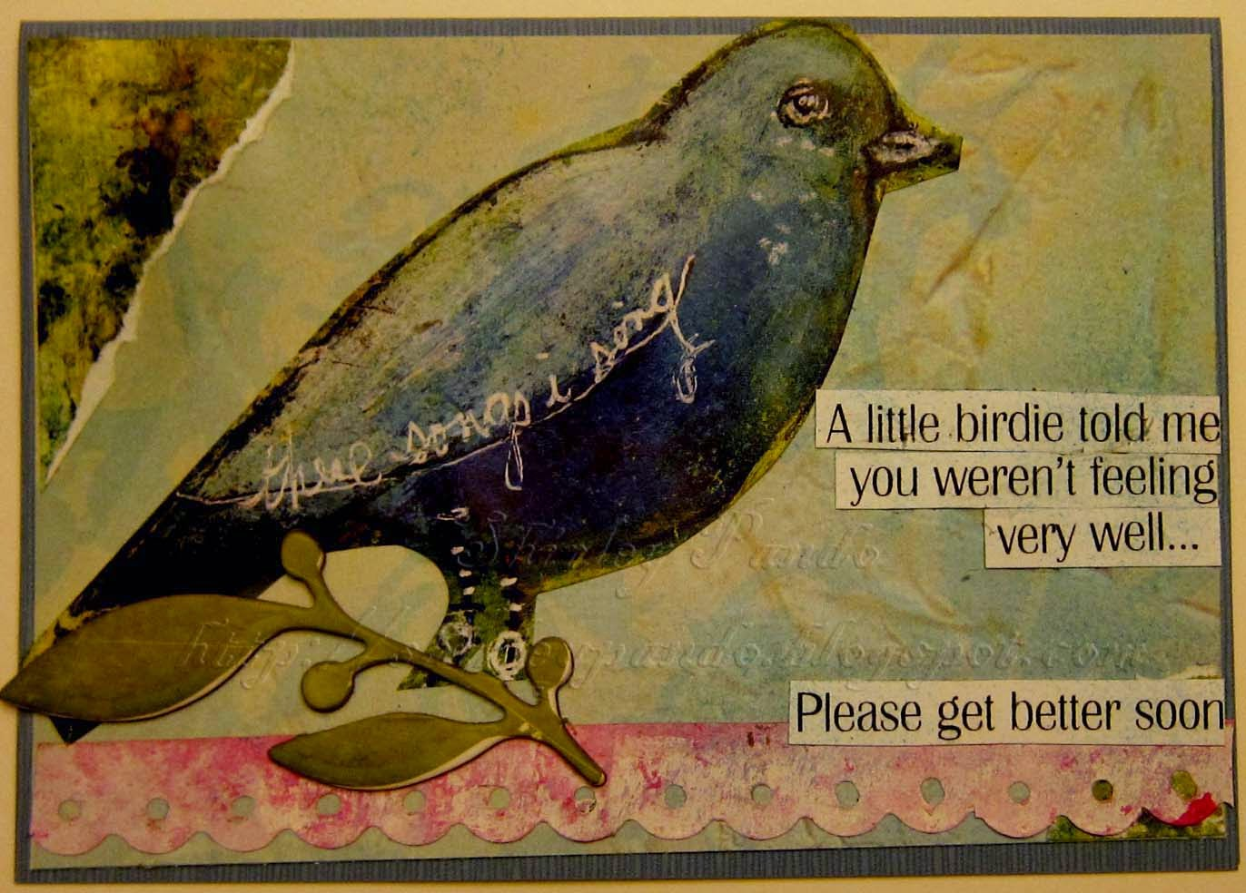 A Little Birdie... (1)