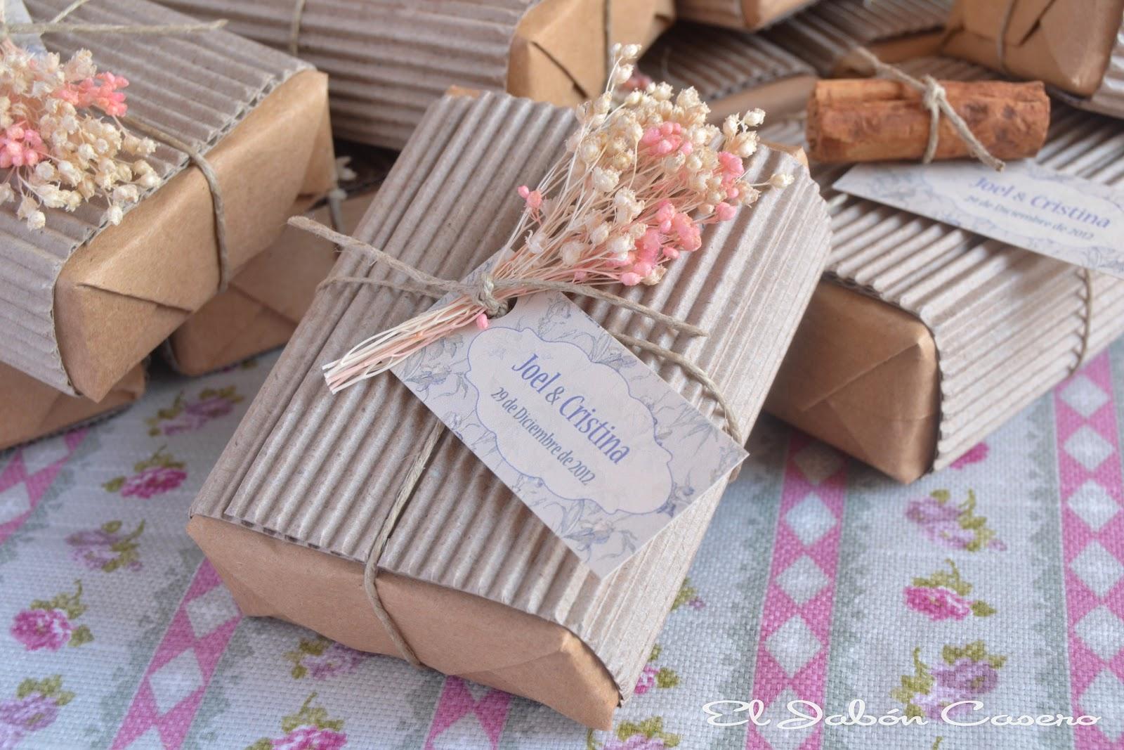 El jab n casero detalles de boda para ellas y ellos jabones b lsamos y sales perfumadas - Manualidades regalo boda ...