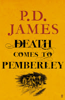 Hardback book cover of Death Comes to Pemberley by P.D. James