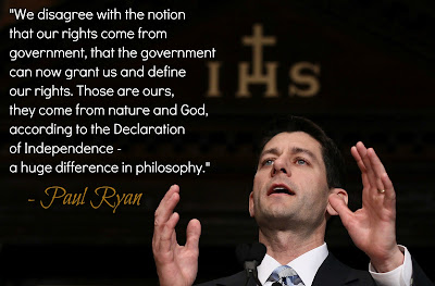 paul ryans god mammon