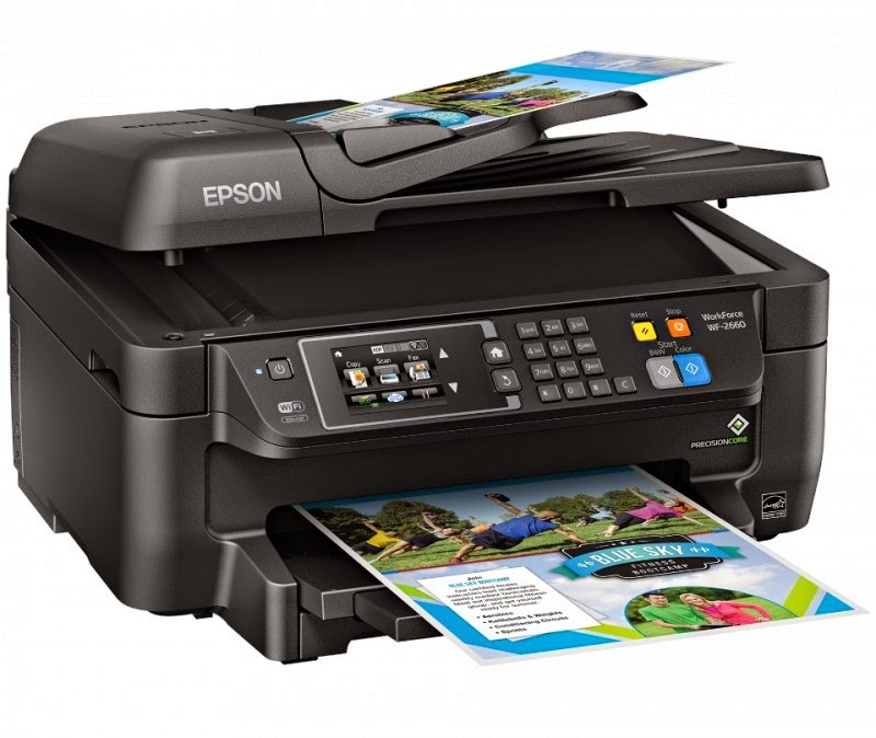 Download Driver Epson Workforce WF-2660DWF