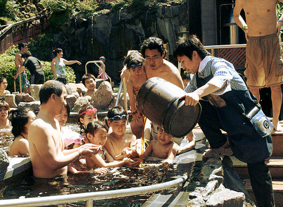 The Yunessun spa in Hakone, Japan offers their visitors a coffee bath for only $27 per person.
