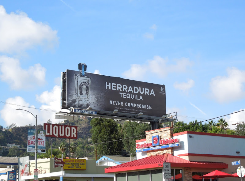 Herradura Tequila extension billboard