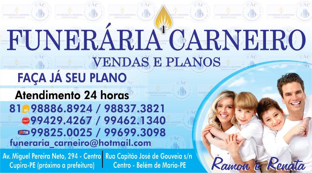 FUNERARIA CARNEIRO COM VOCÊ NO MOMENTO MAS DIFICIL