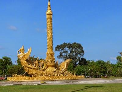 Thung Si Muang park in Ubon Ratchathani