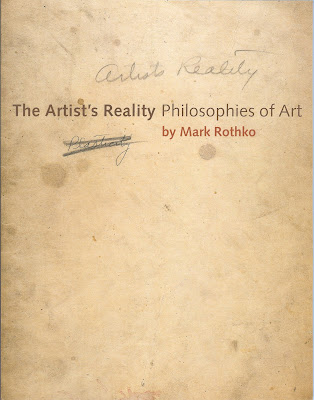 The Artist's Reality – Philosophies of Art Front