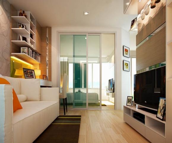 Decora interi decora o de apartamentos pequenos de 60m2 for 60m2 apartment design