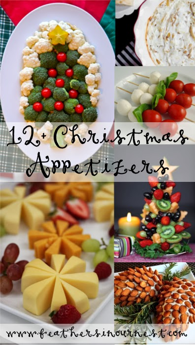 12 Christmas Party Food Ideas Feathers In Our Nest