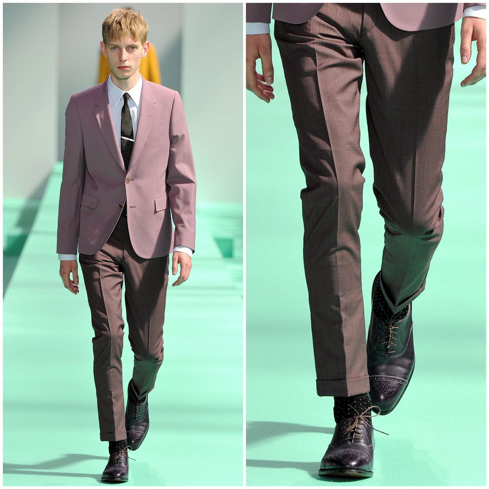 00o00 London Menswear Blog Paul Smith John Lobb Spring Summer 2013