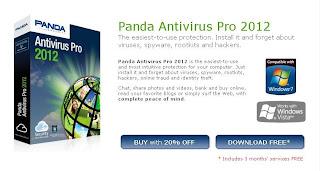 Panda Antivirus Pro 2012 Free 3 Months License
