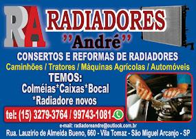 R.A RADIADORES ANDRÉ Concerto e Reforma de Radiadores