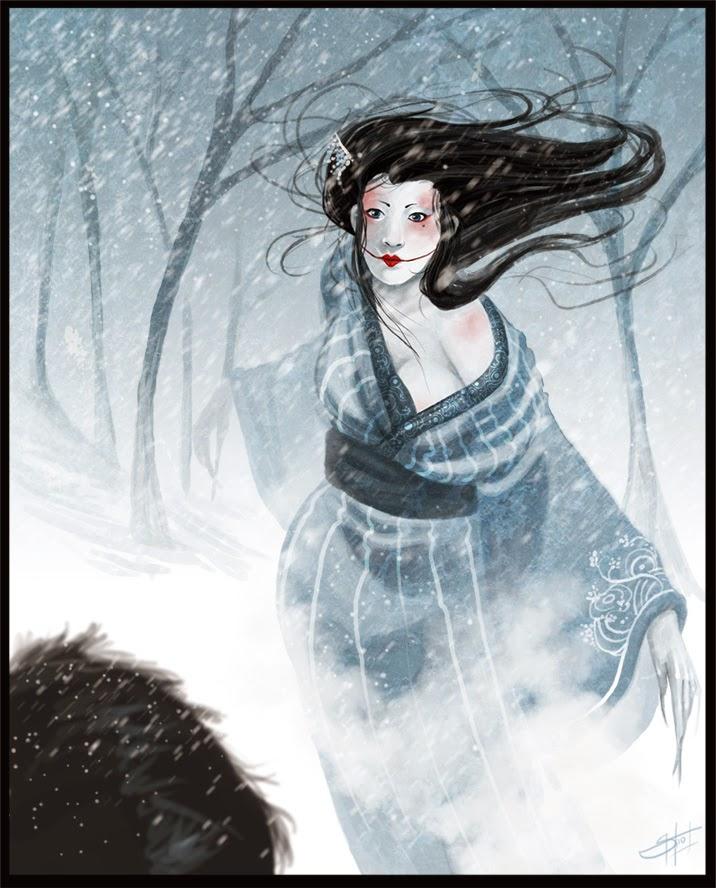 Fata zapezii - O legenda japoneza