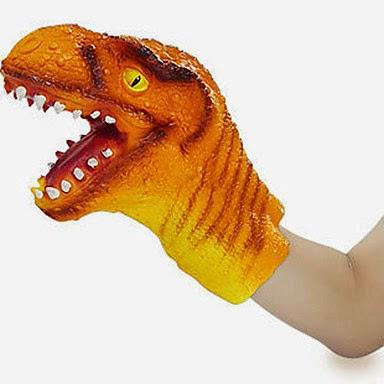 Marioneta Guante Dinosaurio
