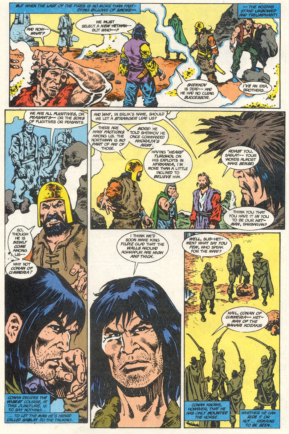 Conan the Barbarian (1970) Issue #275 #287 - English 33