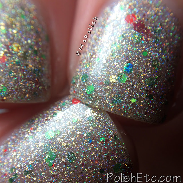 Lavish Polish - Christmas Collection 2015 - McPolish - Holly-days