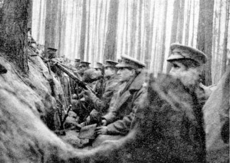 Trenches - Western Front 1915