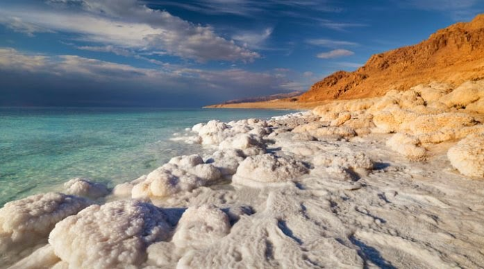 danau laut mati israel jordania