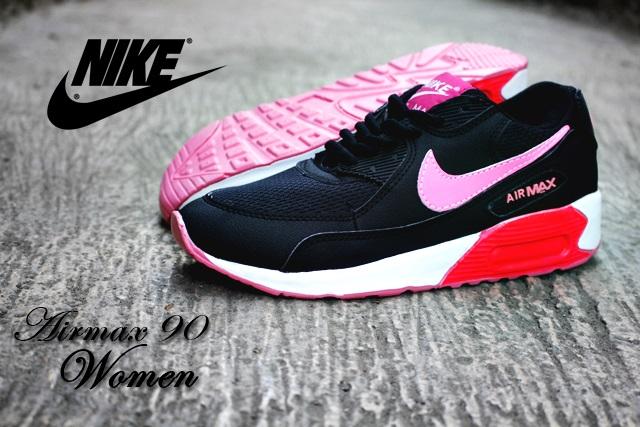Sepatu Nike Airmax 90 Women Black Pink ff8e6873a0