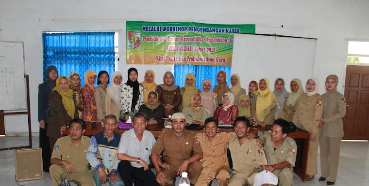 Peserta Workshop PTK Dikdas MGMP SMP LU