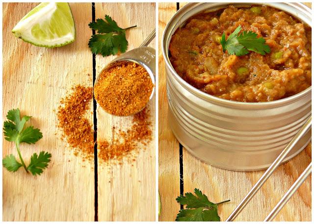 how to make pav bhaji masala powder at home