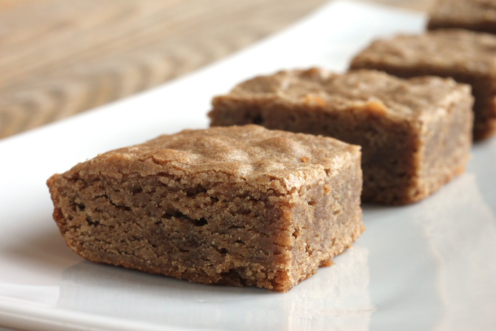 Cinnamon Blondies Recipe — Dishmaps