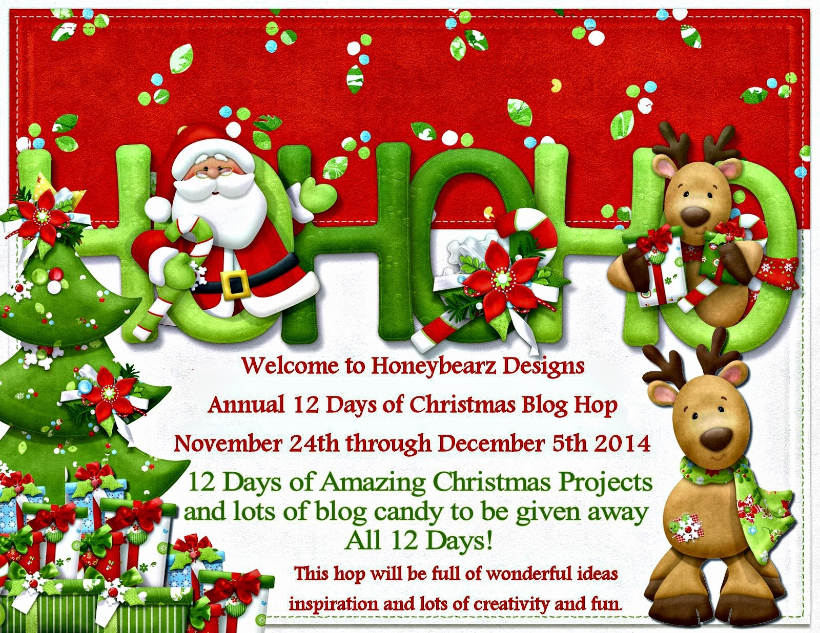 5th Annual - 12 Days of Christmas Blog Hop