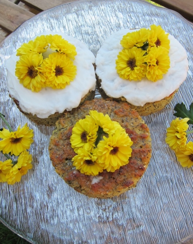 Gluten Free Orange Poppy Seed Cake