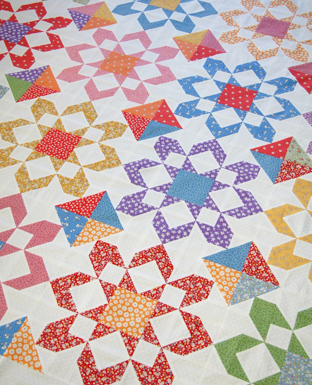 Tied With A Ribbon 1930s Reproduction Fabrics Fireworks