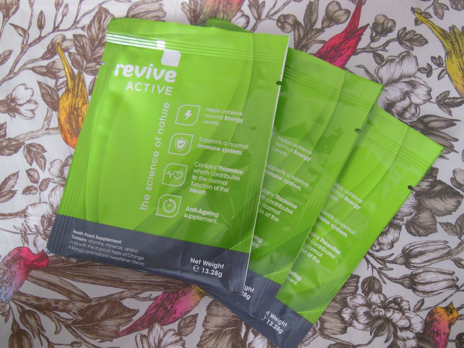 Revive Active food supplement sachets